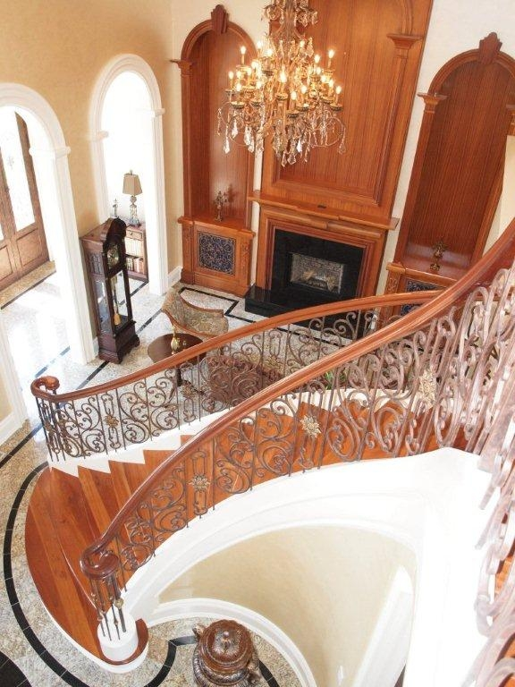 Beautiful Scroll Balustrading